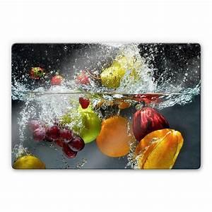 Tableau En Verre : tableau en verre fruits frais wall ~ Melissatoandfro.com Idées de Décoration