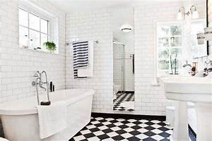 black and white tile bathroom flooring tile ideas home With black and white bathroom tile design ideas