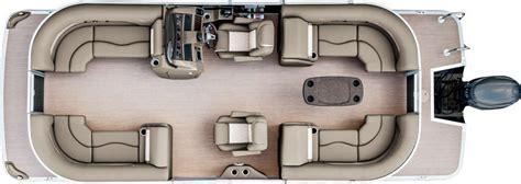 Bennington Pontoon Boats Floor Plans by 2017 Sx22 Premium Pontoon Boats By Bennington