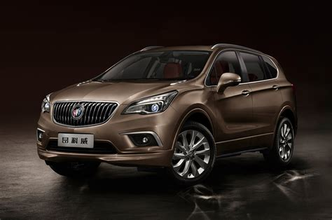 chinese buick envision  official debut motor trend wot