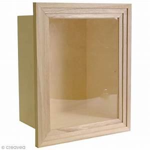 Vitrine En Bois : vitrine en bois d corer 28 5 x 23 5 cm vitrine d corer creavea ~ Teatrodelosmanantiales.com Idées de Décoration