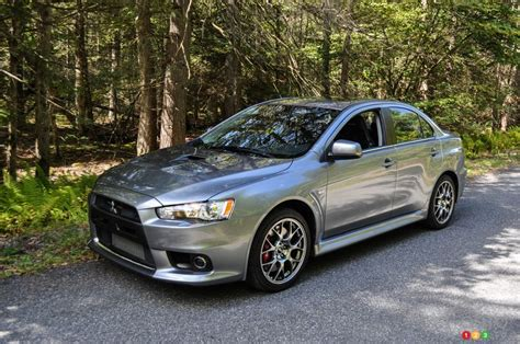 Mitsubishi Evo 2014 by 2014 Mitsubishi Lancer Evolution Mr Review Editor S Review