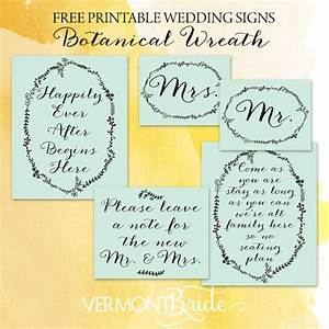 Free download printable wedding signs for Free printable wedding signs