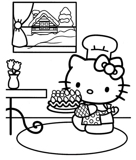 Free Printable Hello Kitty Coloring Pages For Kids Hello
