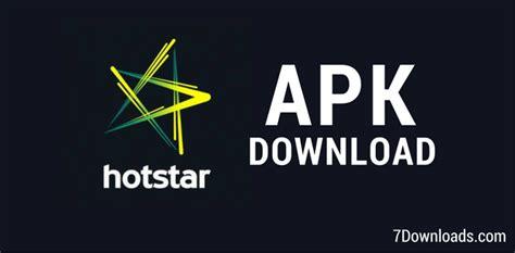 hotstar apk 7 0 10 october 2018 official