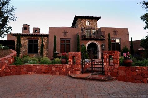 custom world style home sedona arizona