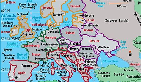 europe countries  regions worldatlascom