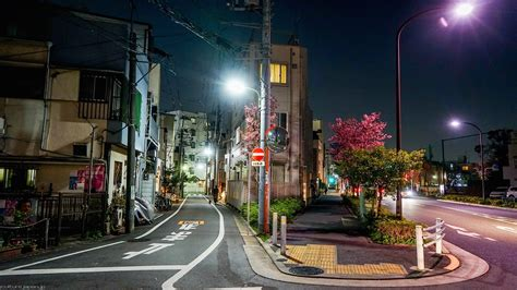 cityscape street light road japan wallpapers hd
