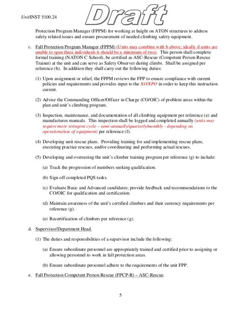 fall protection plan template fall protection plan exle template