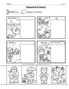 pre k and kindergarten seasons review homeschooling