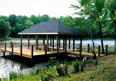 Boats For Sale In Central Virginia by Boat House And Dock We Built On A Lake In Central Virginia