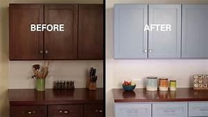 Kilz U00ae How To  Refinish Kitchen Cabinets