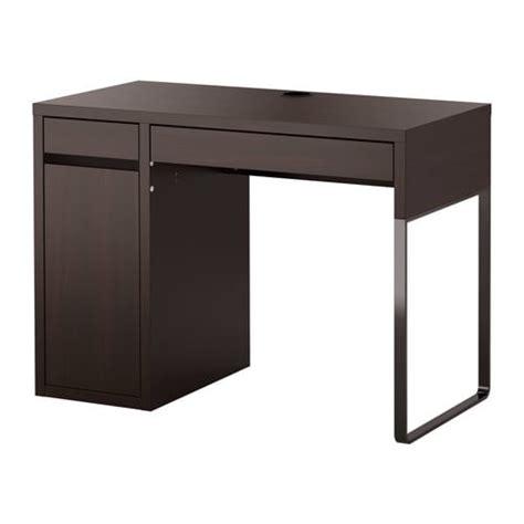 bureau ikea mikael micke bureau brun noir ikea