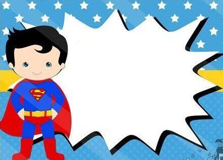 Gumballs Invitaciones de superman Fiesta de cumpleaños