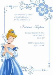 Cinderella birthday invitation wedding invitation for Free printable disney wedding invitations templates