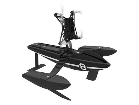 hydrofoil parrot mini drones flying   water