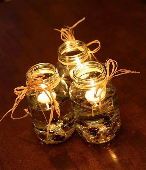 fall centerpieces with jars 68 best cheap mason jar centerpiece ideas diy to make