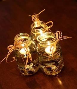 68 Best & Cheap Mason Jar Centerpiece Ideas | DIY to Make