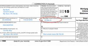 understanding your forms form 1098 mortgage interest With loan document preparation software