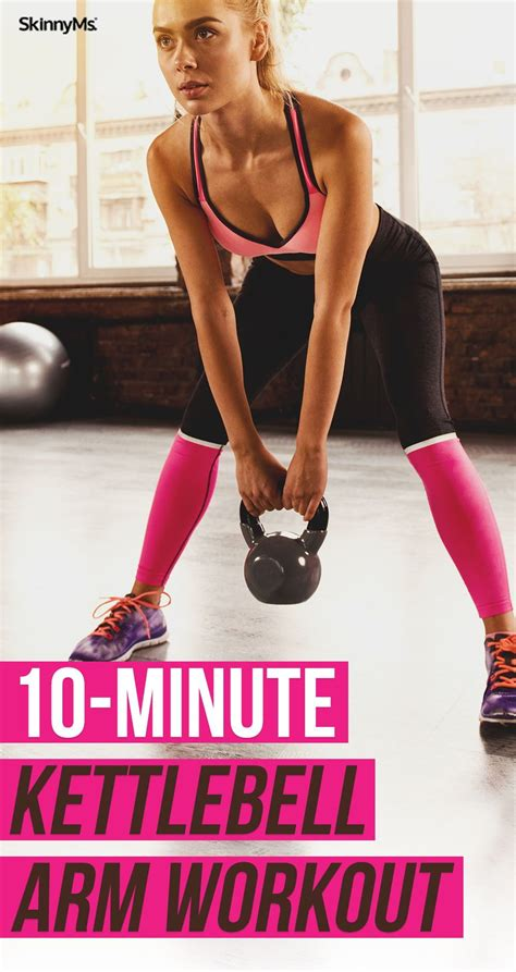 kettlebell arm workout minute arms exercises burn sculpted workouts fat abs