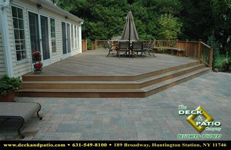 wood and composite decks trex timbertech azek deck