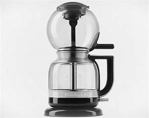 Kitchenaid39s siphon coffee brewer automates the highly for Küchen siphon