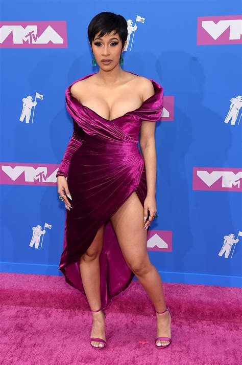 ICYMI: Cardi B Wore Three Different Outfits to the 2018 ...