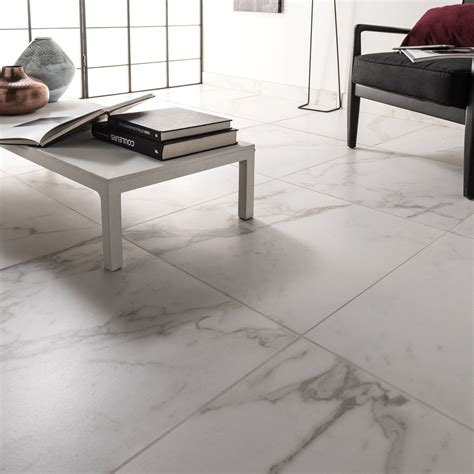 carrelage marbre blanc carrelage sol et mur blanc carare effet marbre murano l 60