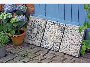 Betonplatten Verlegen Auf Erde : mosaike aus kieselsteinen mein sch ner garten ~ Whattoseeinmadrid.com Haus und Dekorationen