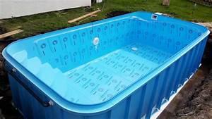 Kompletní cena bazénu