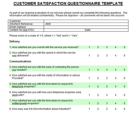 customer satisfaction survey introduction sample survey