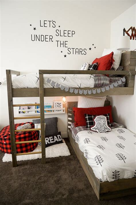 awesome shared boys room designs   digsdigs