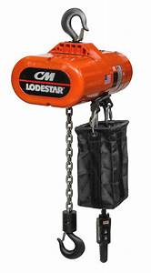 Cm Lodestar Electric Chain Hoist Now Offered As Economical