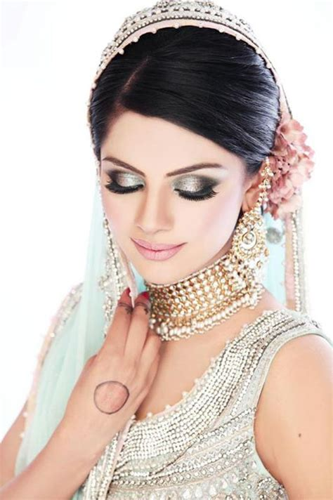 pakistani party makeup hairstyles  pictures