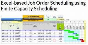 Production Schedule Template Excel Trainingable