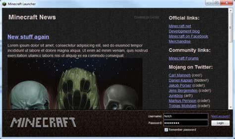 minecraft launcher redesign image mod db