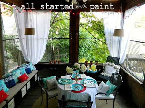 Small Screened In Porch Decorating Ideas by How To Decorate A Small Screened In Lanai Studio