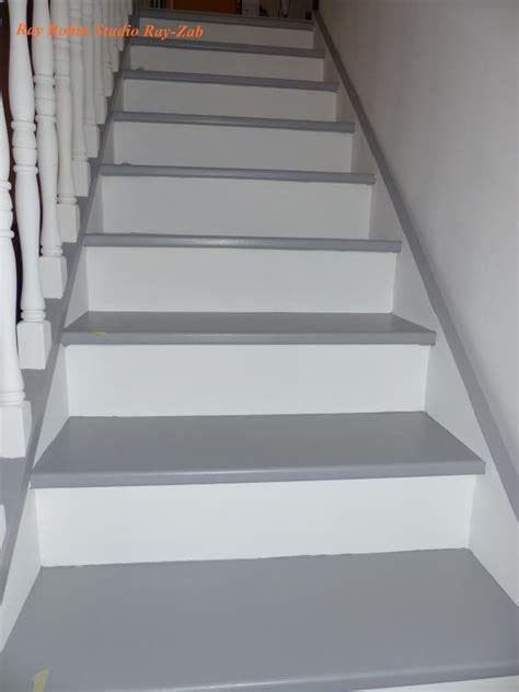comment repeindre un bureau en bois les escaliers repaints le monde selon zab comment