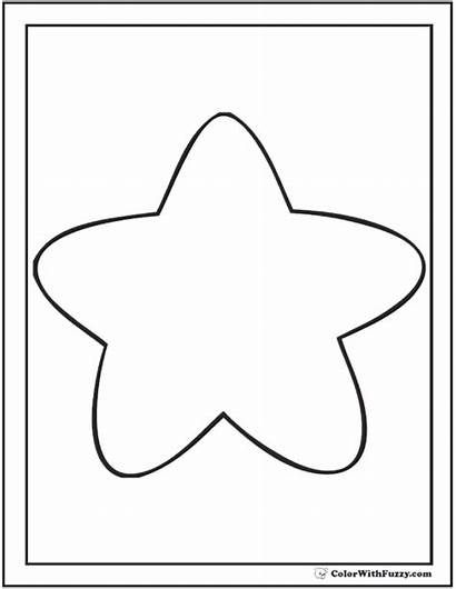 Coloring Printable Rounded Template Point Pdf Night