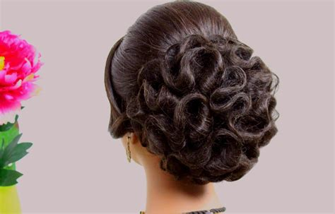 Bridal Hairstyle For Long Hair Tutorial. Wedding Updo Step