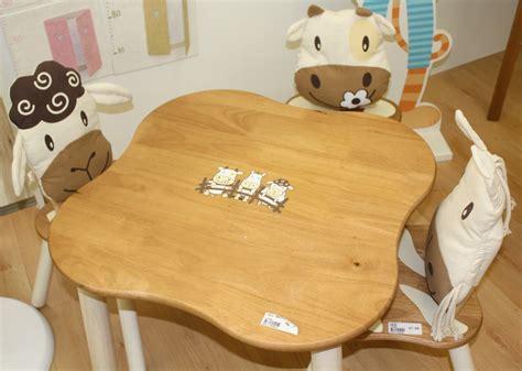 chaise de table bebe tables et chaises pour enfants autour de bebe starjouet