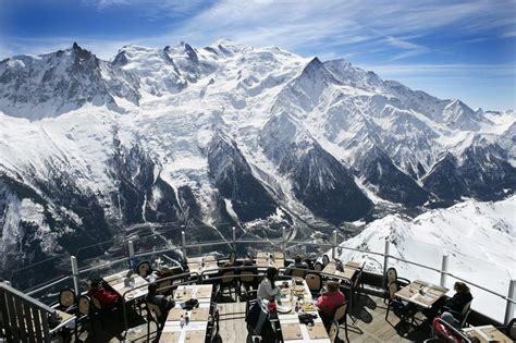 chamonix s best mountain restaurants peak transfer blog