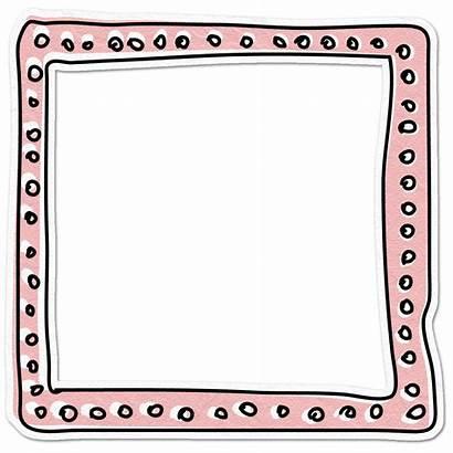 Doodle Frame Frames Border Transparent Clip Borders