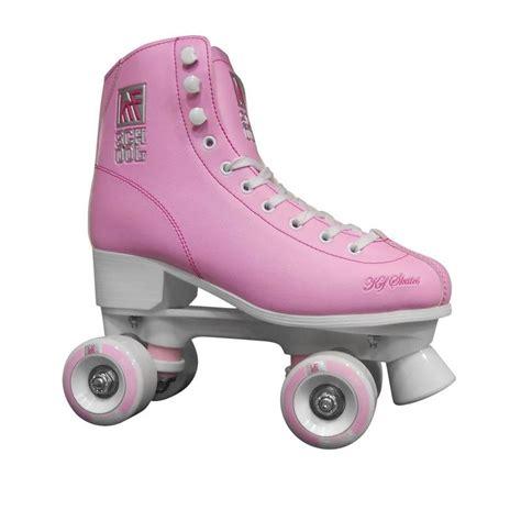 Pattini a rotelle quad school rosa pastello KRF - Roller ...