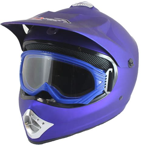 motocross crash helmets childrens kids motocross atv matt crash helmet goggles