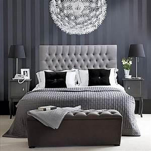 beautiful, gray, bedrooms