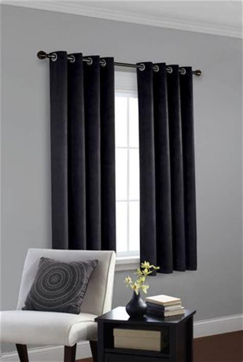 window curtains walmartca faux suede room darkening window panel walmart ca