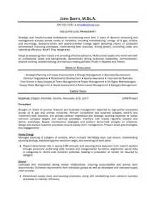 mid level management resume top management resume templates sles