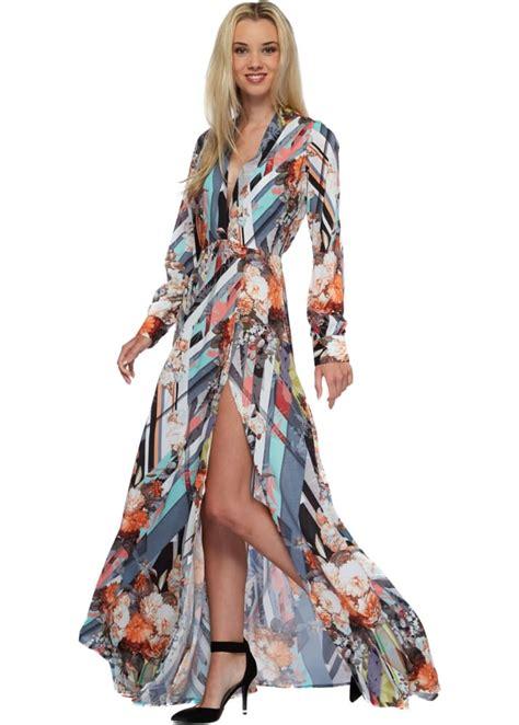 amelia dress maxy rhoades amelia dress abstract multicoloured maxi