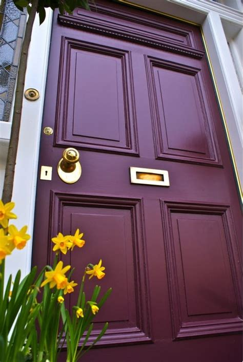 25 best ideas about colored front doors on